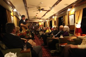 Aboard Belmond's Royal Scotsman