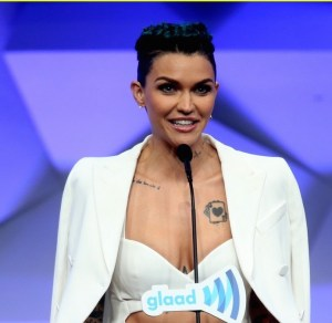Ruby Rose and Demi Lovato honoured at GLAAD Media Awards 2016