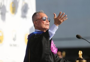Actor and activist George H. Takei receives honorary doctorate