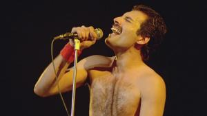 Freddie Mercury honoured with blue plaque at London home