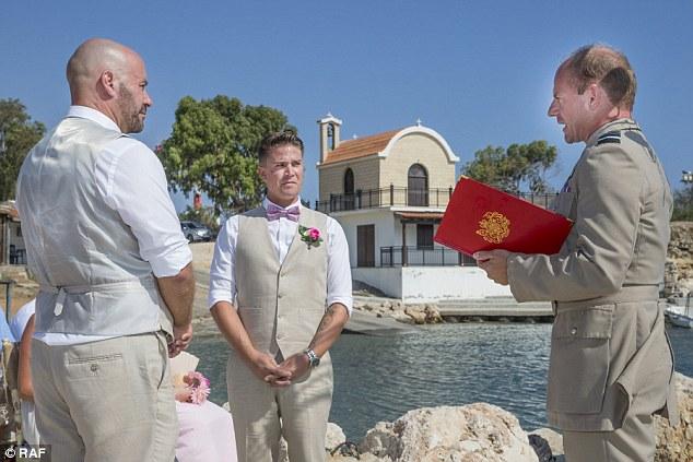 same-sex wedding British army