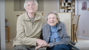 Lennie and Pearl, together 50 years: 'We're With Her'