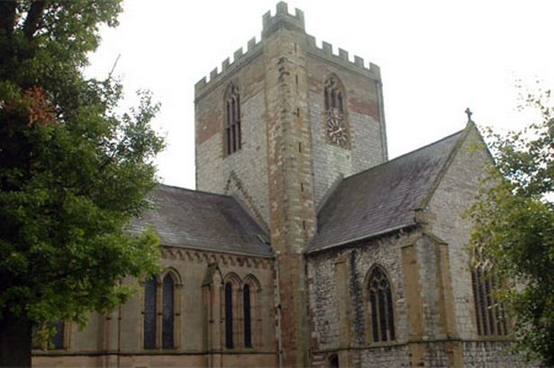 St Asaph Cathedral in Wales
