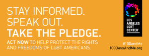 Los Angeles LGBT Center launches 100 days and me