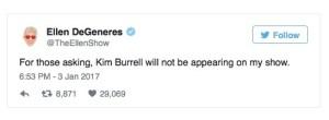 Ellen bans Kim Burrell