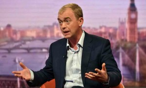 Lib Dem leader Tim Farron says he does not believe homosexuality is a sin