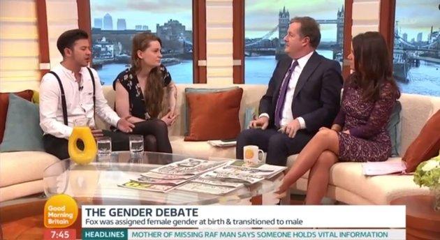 Piers Morgan gender