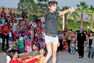 Lucknow just held its first queer flash mob and it was glorious