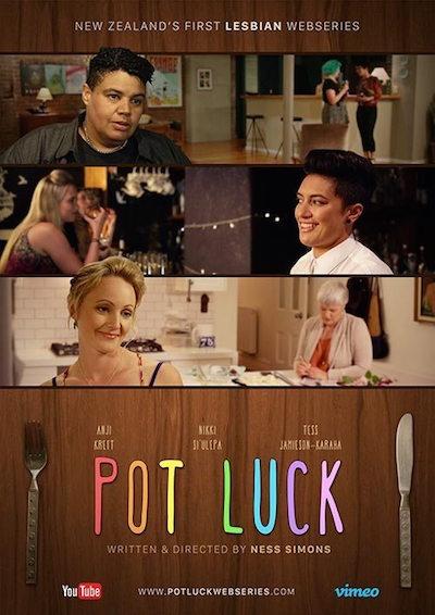 Pot Luck lesbian webseries