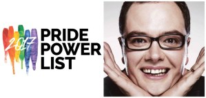 Alan Carr tops the Pride Power List
