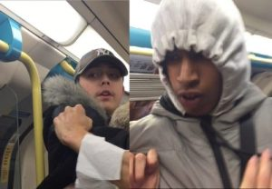 FIND THEM: London thugs who forced their victim to apologise for being gay
