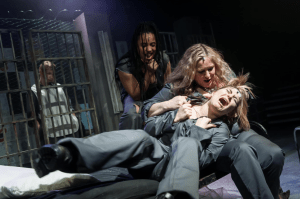 Review. Bad Girls: The Musical, Above the Gatehouse