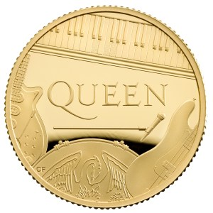 Queen to share coin with, erm, Queen.