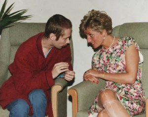 Opening soon! New play marking Princess Diana's visit to AIDS centre.