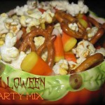 Halloween Candy Corn Party Mix