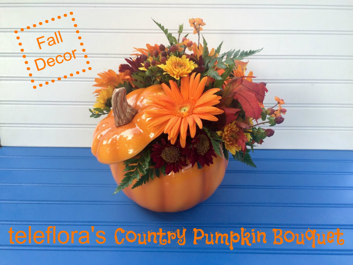 Great Fall Decor & Gifting Ideas with Teleflora's Halloween Bouquets