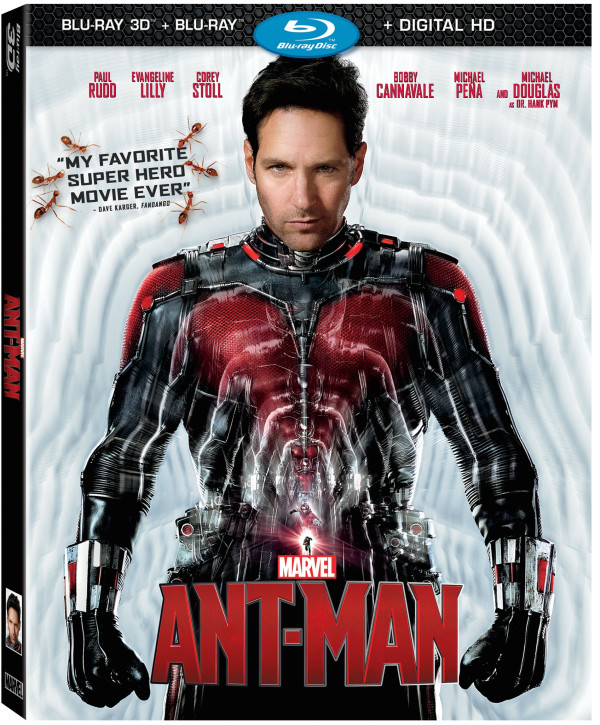 Marvel's Ant-Man on DMA NOW & Blu-ray Combo Pack 12/8