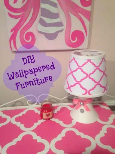 DIY Wallpaper Furniture Using RoomLookz
