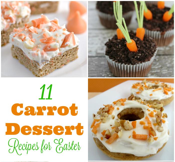 Carrot Dessert Recipes for Easter - Square