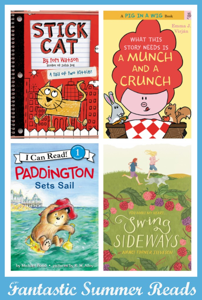 Relax With These Fantastic Summer Reads From HarperCollins Children's Books