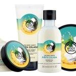 The Body Shop: Limited Edition Pinita Colada Collection