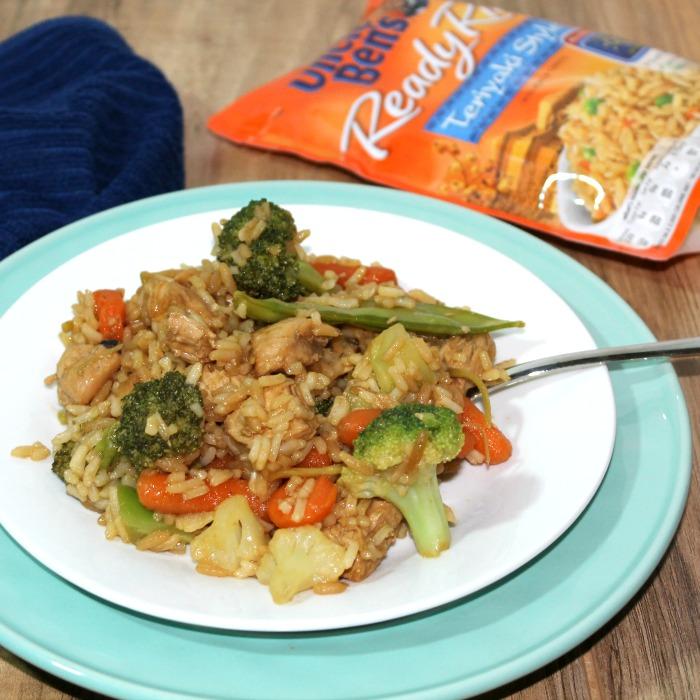 Teriyaki Chicken & Rice Casserole Recipe