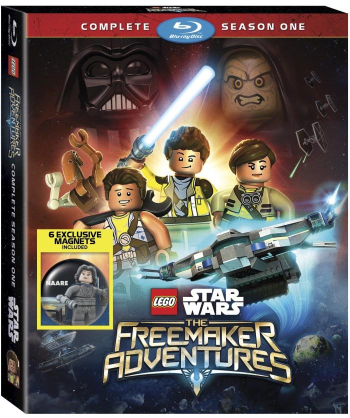 Lego Star Wars Freemaker Adventures Season One on Blu-ray and DVD
