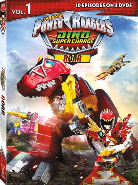 Power Rangers: Dino Super Charge Roar DVD Review