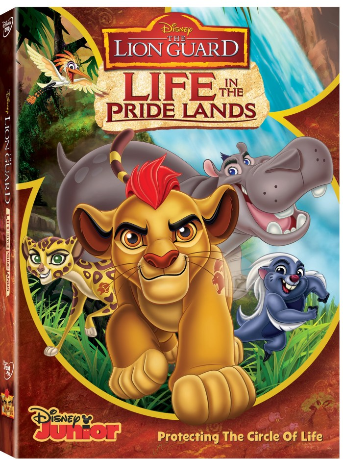The Lion Guard – Life in the Pride Lands on Disney DVD