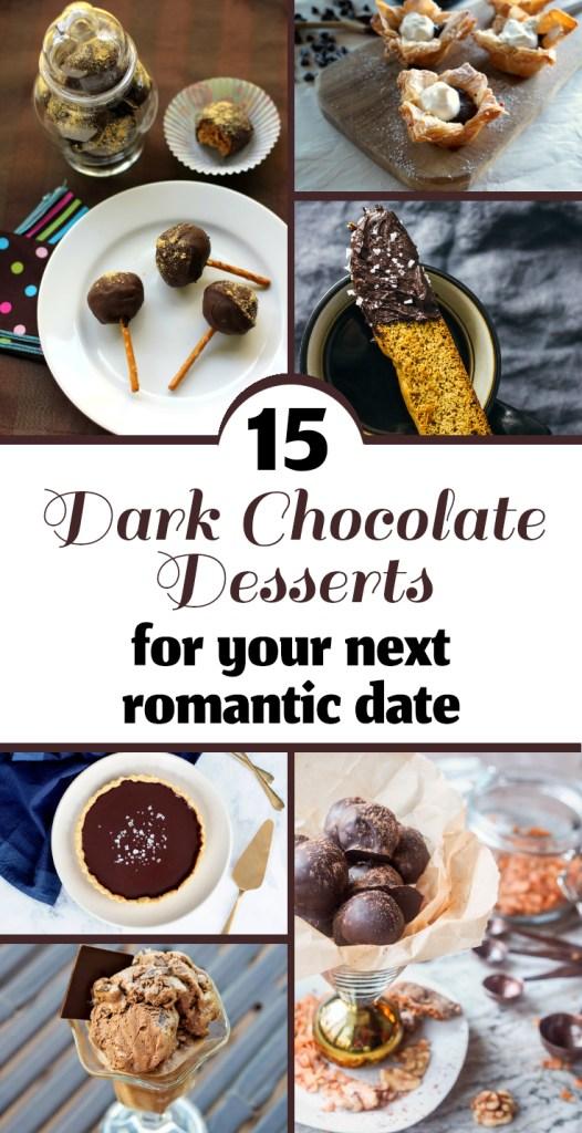 15 Dark Chocolate Desserts for Valentine's Day