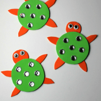 Turtle Magnet Preschool Craft & Envirokidz EnviroTrip Contest