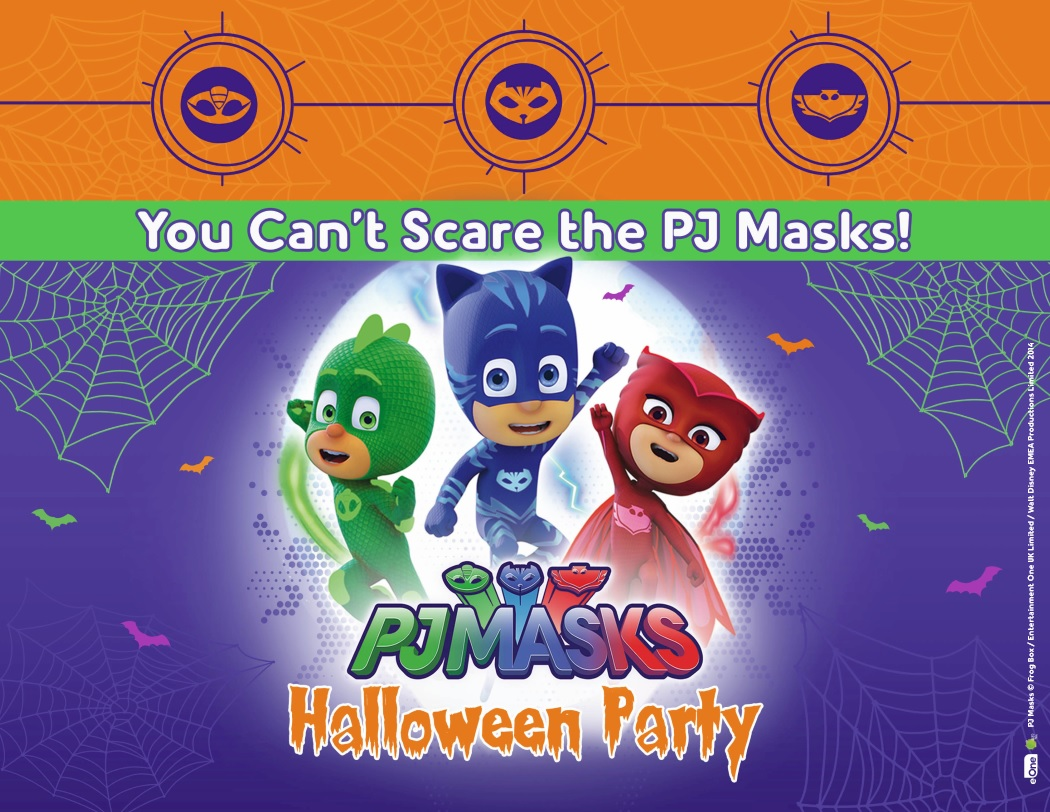Have A Spook Tacular Halloween With The Pj Masks
