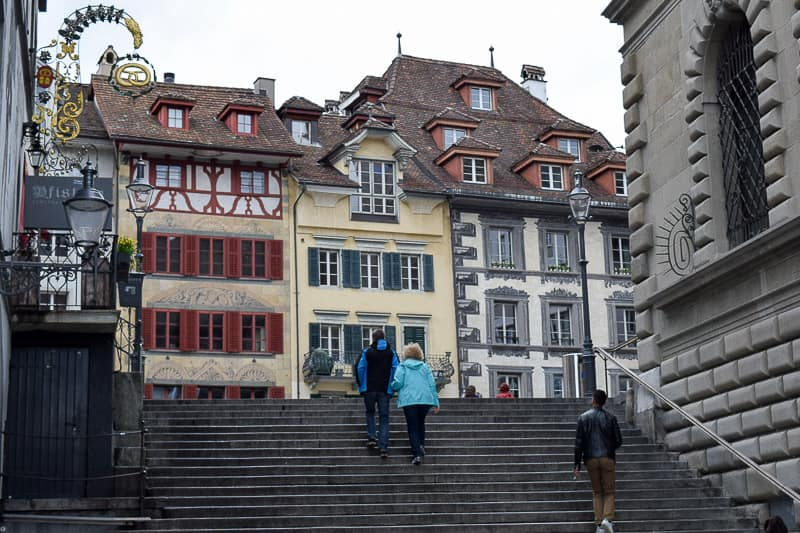 Lucerne Switzerland things to do Old Town Lucerne