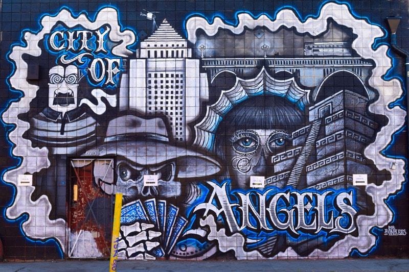 Los Angeles Incredible Street Art Scene