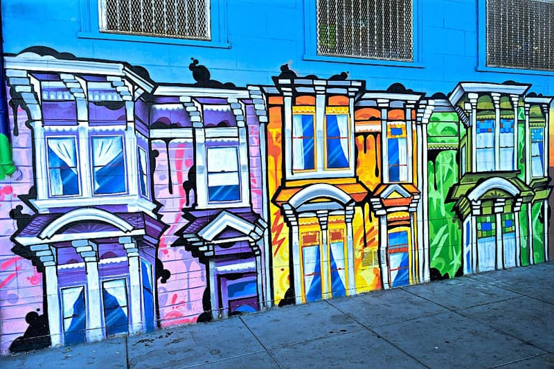 San Francisco Street Art and Tacos: the Mission District