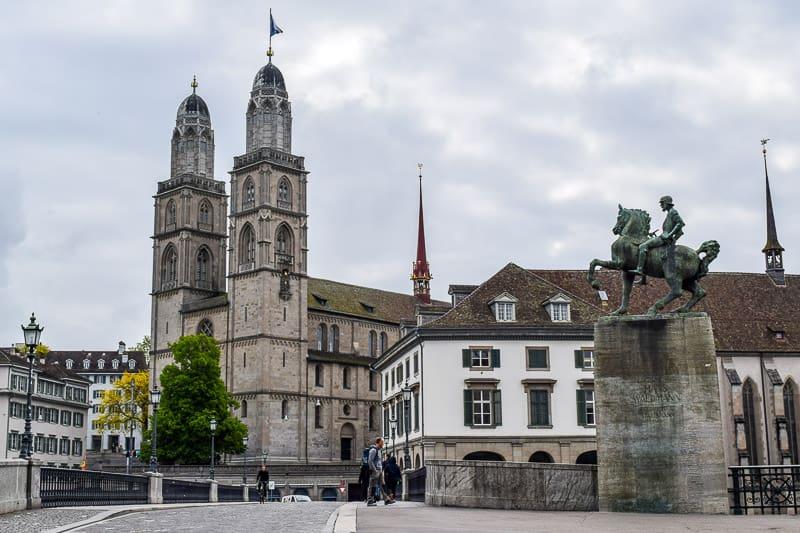Zurich Switzerland Things to do Grossmünster