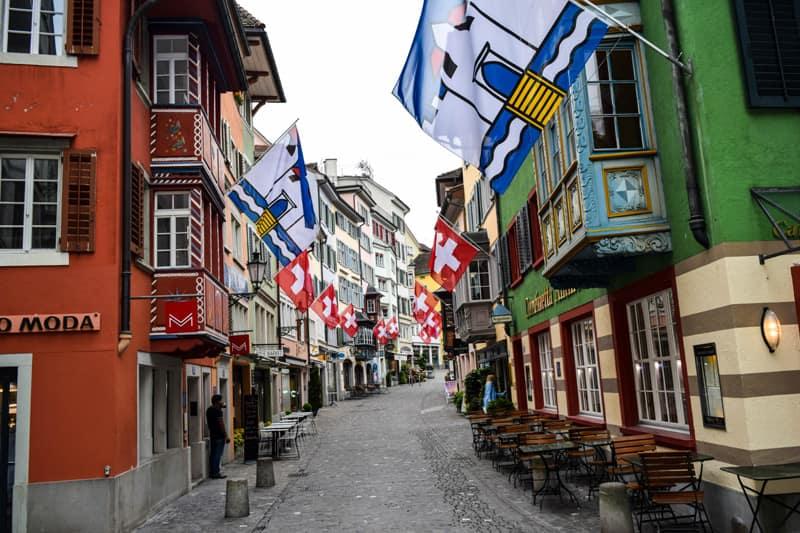 Augustinergasse Zurich Switzerland Things to do