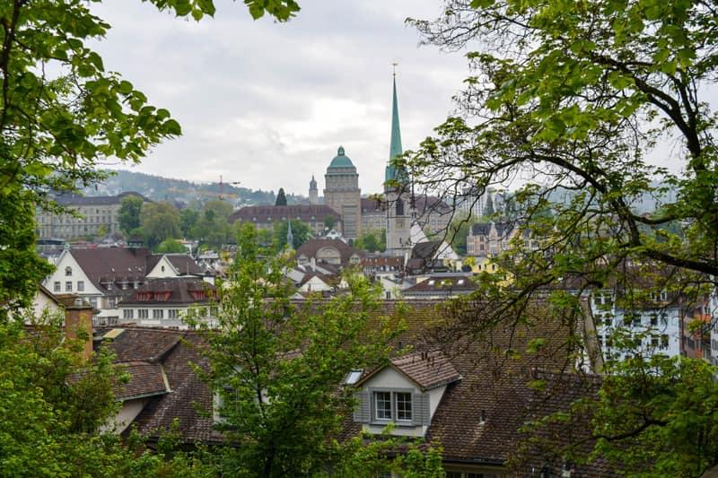 Zurich Switzerland Things to do Lindenhof Park