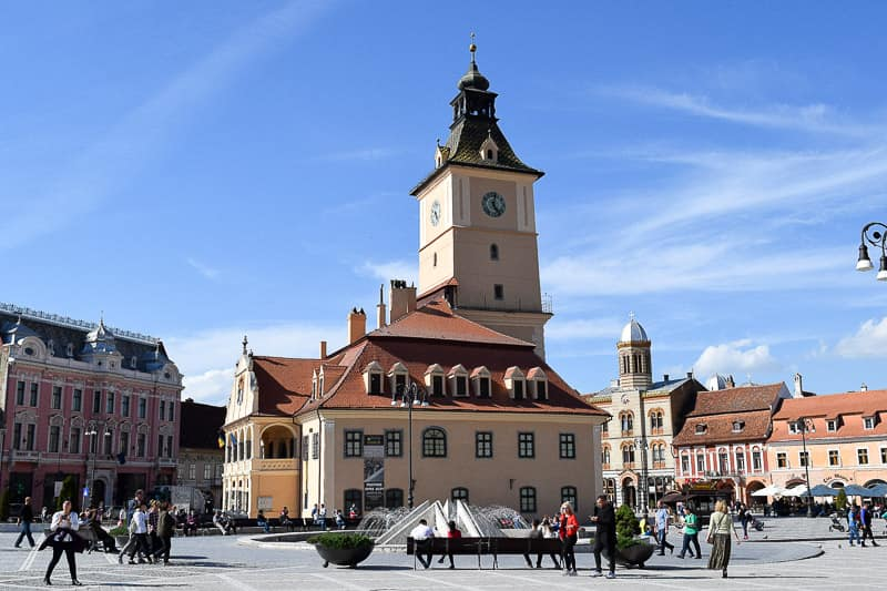 Council Square Town Hall Brasov Romania Transylvania things to do
