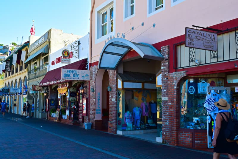 Catalina Island Crescent Ave