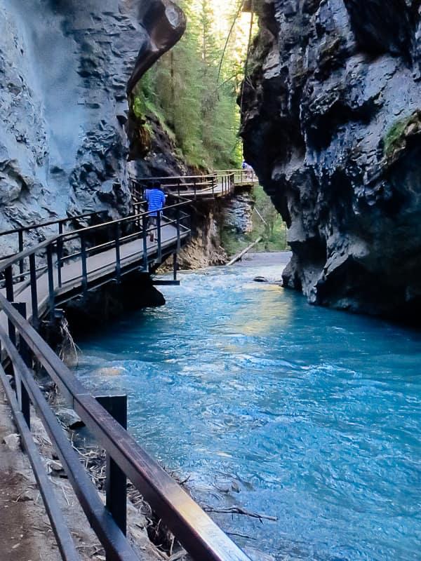 Johnston Canyon Trail Banff National Park