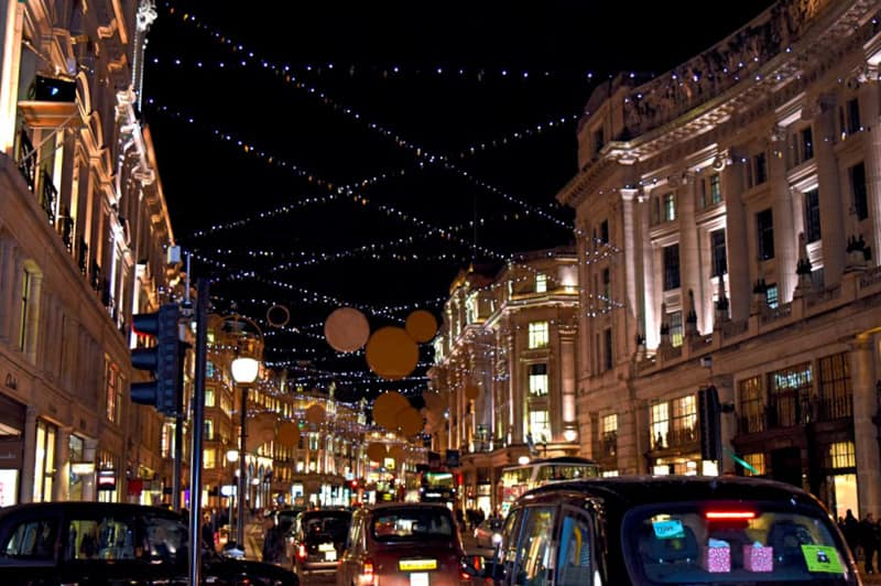 London Christmas Regent Street Lights