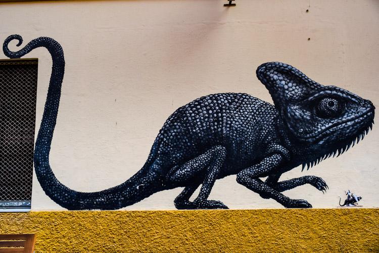 Malaga Spain Street Art: Barrio de las Artes