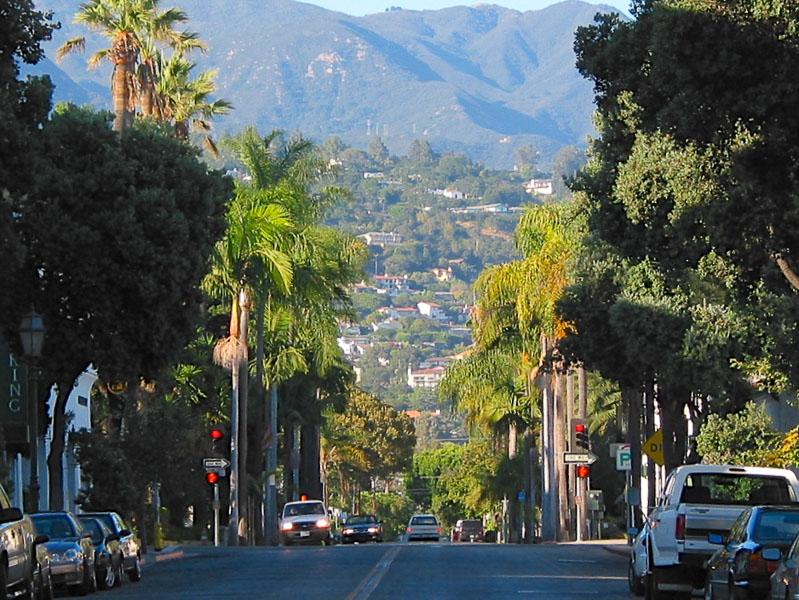 Santa Barbara California Coast Free Stock Photo - Public
