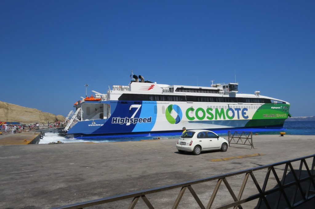 Hellenic Seaways Highspeed 7 Cosmote