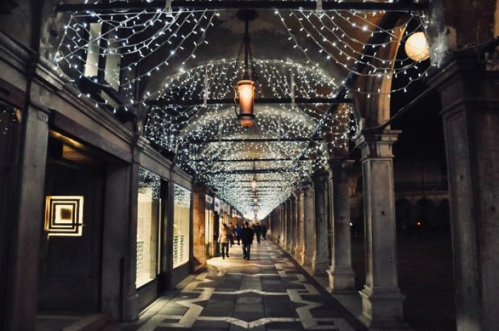 venezia a natale luci piazza san marco