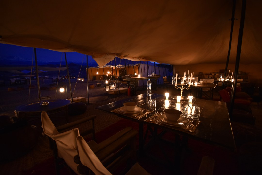 cena marrakech scarabeo camp