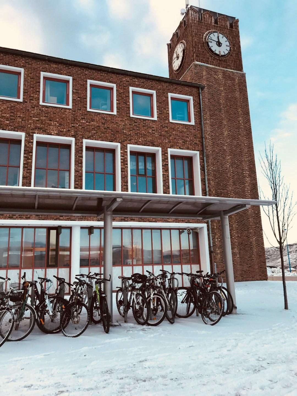 norvegia in treno stazione bodo