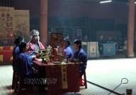 Ceremony in the Khanh Van Nam Vien pagoda