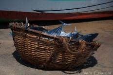"""""""Sri Lanka"""" Negombo Fish Market basket"""